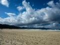 Playa y Laguna de Traba