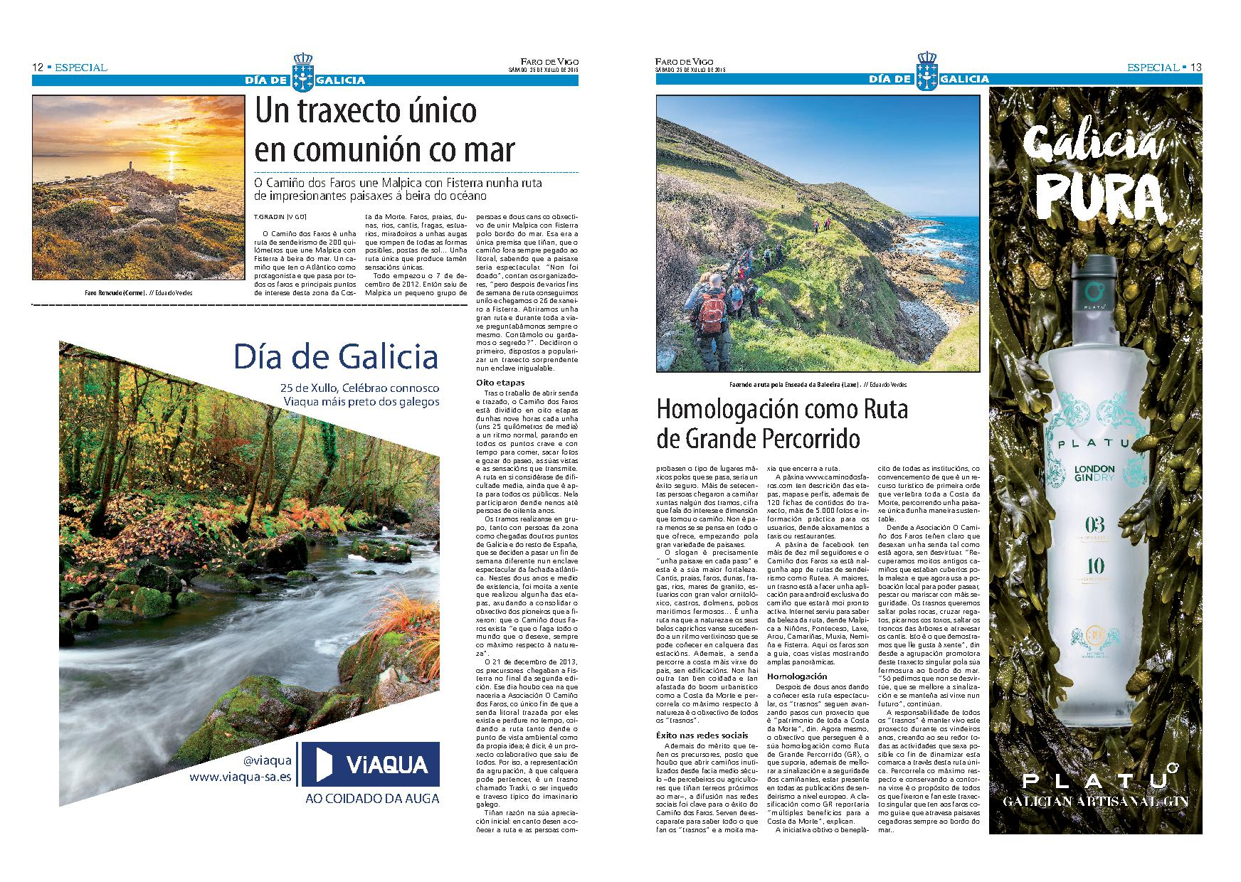 Camiño dos Faros-Faro de Vigo